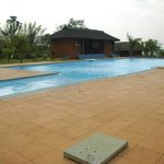 large and clean pool