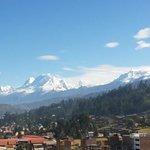 Huascarán desde el Hotel