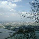 Vue sur Kunming depuis le Dragon Gate