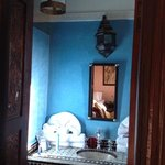 small bathroom in Riad Africa