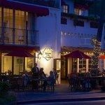 Outdoor dining at The Ristorante Villa Portofino