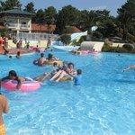 Zona piscinas exteriores