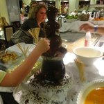 The Chocolate Fountain *drewls*