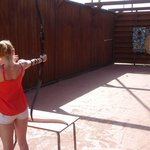 The worst display of archery ever to grace the Elba Carlota