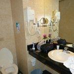 Kleine badkamer, maar verder prima