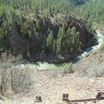 Steep canyons