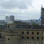 View of Tower of London and Tower Bridge from room 522