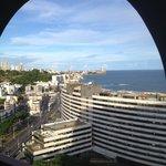 Vista cidade do apartamento no 12º andar.