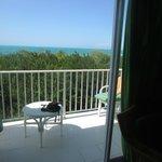 vue de notre balcon au 3e, chambre 9306