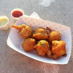 REAL awesome conch fritters!