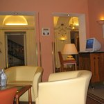 Hall del Hotel e Internet