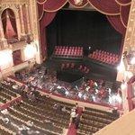 vista del escenario