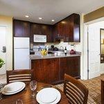In Room Kitchen in Two Bedroom Suite