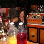 Friday night bar maid !
