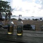 Beer on pigeon island :)