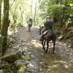 Horseback tour Nauyaca Falls
