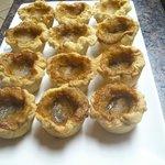 handmade butter tarts