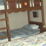 habitacion para 4 cama grande y liera