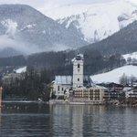 St. Wolfgang vom See aus