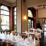 Restaurant ImmerSatt in Frankfurt Bockenheim Innenansicht