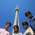 A stop by the CN Tower during our Heart of Downtown Tour