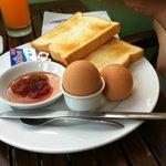 western stile breakfast
