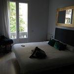 Tweepersoonskamer met queensize bed