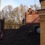 Vista dei tetti