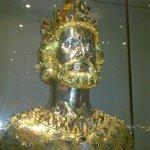 il busto di Carlo Magno