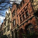 Construction typique dans le quartier de Harlem