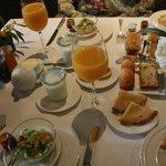 Gigantisches Frühstück