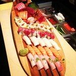 sushi surfboard