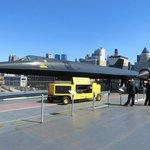 Lockheed supersonic reconnaissance aircraft.