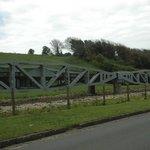 Folding bridge in Vierville-sur-Mer
