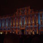 Musée des Beaux Arts lors de la fête des Lumières