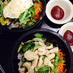 Gopdol Bibimbap with egg and chicken