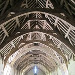 Magnificent roof structure