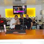 Orhan, me, Steven & Mehmet