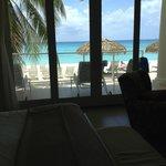 View from master bedroom Villa #1