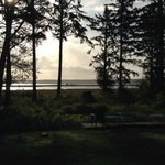 View east from the B&B across Grays Harbor