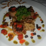 Lamb with figs, Pescador  restaurant