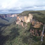 part of the canyon in the Blue Mountains