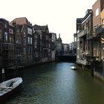 Il canale dove si affaccia il Ristorante