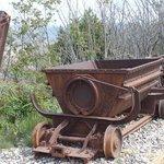 Copper mining relics