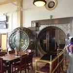The famous vault