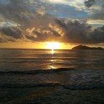 Sunrise over Dunk Island, Wongaling Beach