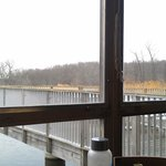 the view from our table on the deck
