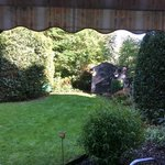 Access to back garden from our room