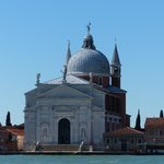 View of Il rendentore across the Giudecca Canal