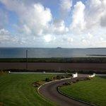 Castle Farm Breakfast View
